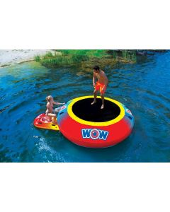 wow bouncer floating island