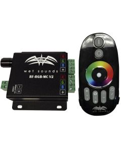 Wet Sounds RF RGB Music Controller W/ Touch Activated Remote